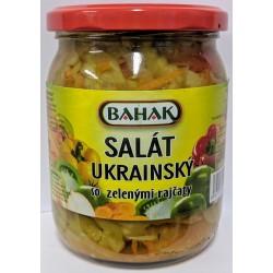 Salát Ukrajinský se zelenými rajčaty Bahak 1x500g