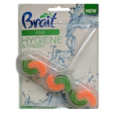 WC závěs na toaletu vůně borovice hygiene&fresh Brait 1x45g