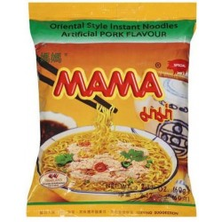 Instantní nudlová polévka s vepřovou příchutí - MAMA 60g