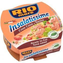 Hotový pokrm Kuskus a Tuňák s cizrnou, hráškem, cherry rajčaty Insalatissime - Rio Mare 36x160g
