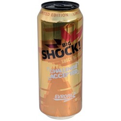 Energetický nápoj Shock Yourself - Challenge Accepted - Big Shock - limitovaná edice 500ml