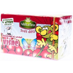 Rákosníčkův ovocný čaj višeň - VeltaTea 1x40g