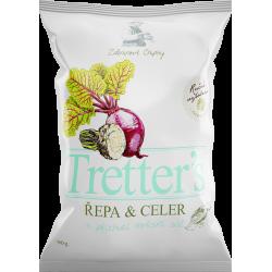 Tretter´S Řepa&Celer mořská sůl zeleninové chipsy 1x90g