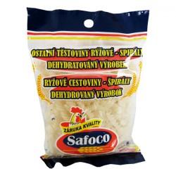 Vegetariánské rýžové těstoviny - Spirály - Safoco 50x200g
