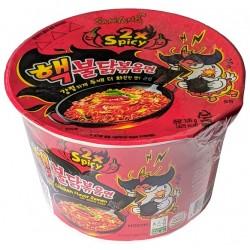 Instantní kuřecí nudlová super pálivá polévka v kelímku - Samyang 105g