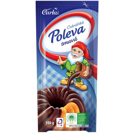 Cukrářská poleva mléčná - Carla
