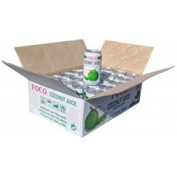 Kokosový džus FOCO 24x350 ml