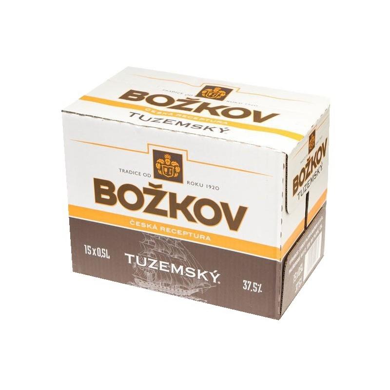 Rum Božkov 15x0,5l