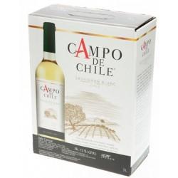 Španělské víno bílé 12% alc. - Campo de Sauvignon blanc 3L