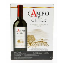 Španělské víno červené 13% alc. - Campo de Cabernet Sauvignon 3L