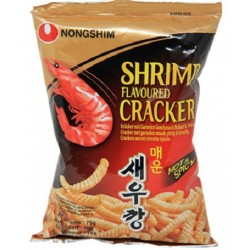 Krevetové chipsy s pálivým kořením - Nong Shim 75g