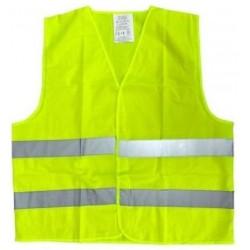 Výstražná bezpečnostní reflexní vesta barva žlutá XXXL