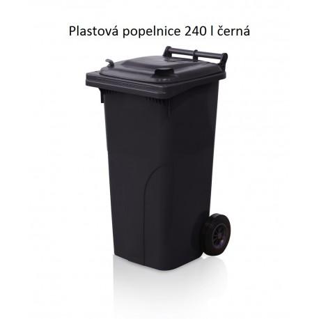 Popelnice 240 černá