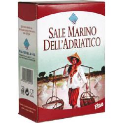 Jedlá sůl mořská jemná Sale Marino Dell'Adriatico 1x1kg