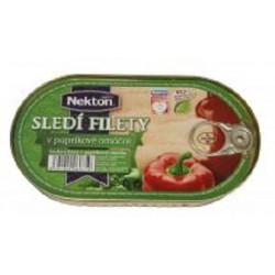 Sledí filety v paprikové omáčce - Nekton 170g