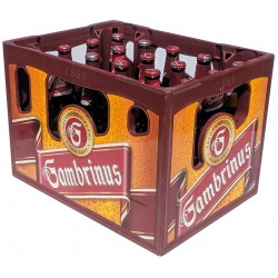Pivo výčepní světlé Gambrinus Originál 10 - 4,3% - vratná láhev 20x0,5l