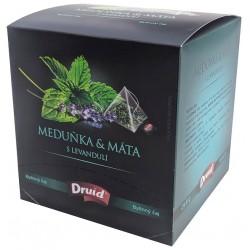 Bylinný čaj meduňka & máta s levandulí Druid 1x(12x1,8g)21,6g