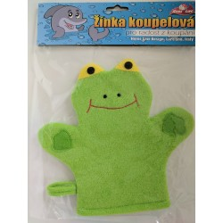 Žínka koupelová žabička