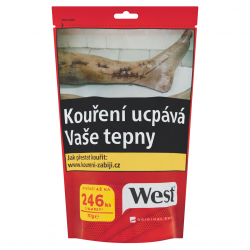 Cigaretový tabák West original Red 1x111g