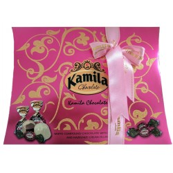 Kamila růžová čokoládová bonboniera 300g