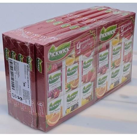 Ovocný mix 9 chutí čaj - Pickwick 1x1ks kazeta