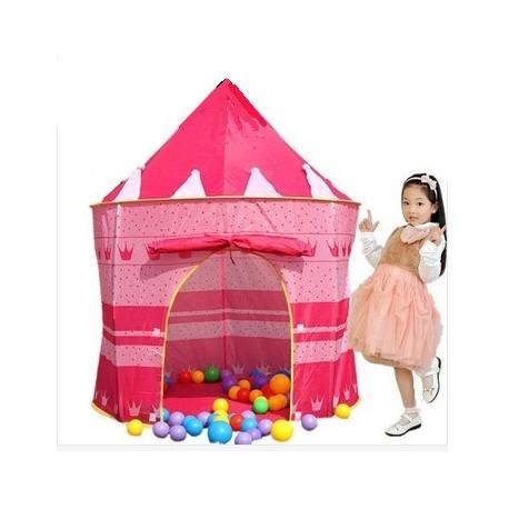 Dětský stan na hraní růžový