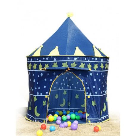 Dětský stan na hraní modrý