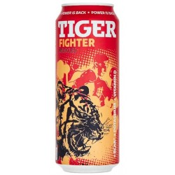 Energetický nápoj Fighter Muscles - Tiger 500 ml