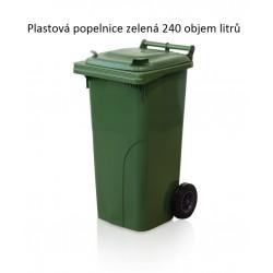 Popelnice 240 zelená
