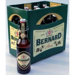 Sváteční ležák vratná láhev keramická zátka Bernard 12% 11x0,5l