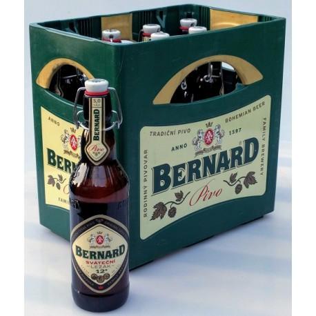 Bernard sváteční ležák keramická zátka 12% vratná láhev 1x0,5l