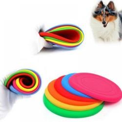 Silikonové frisbee pro psy barva růžová