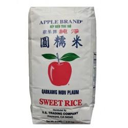 lepkavá rýže Apple Brand 1x2,27 kg