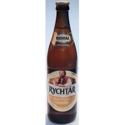 Pivo světlý ležák Premium Rychtář 5,0% vratná láhev 1x0,5l