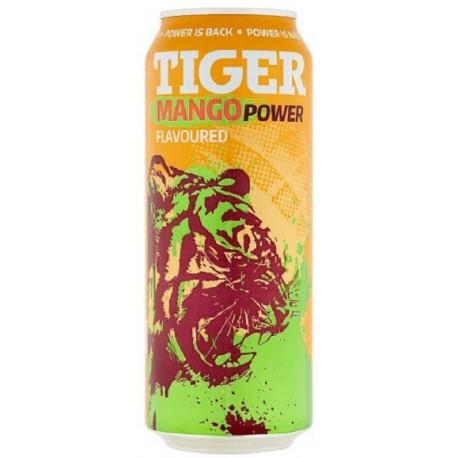 Energetický nápoj Mango Power - Tiger 500 ml