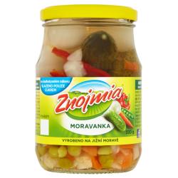 Sterilizovaná zeleninová směs Moravanka Znojmia 1x330g