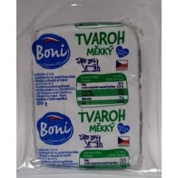 Tvaroh měkký kostka obsah tuku 0,5% Boni 1x250g