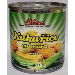 Kukuřice cukrová zrna vakuovaná Alibona - 1x160g