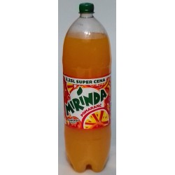 Pomerančová limonáda Mirinda orange pet láhev 1x2,25l