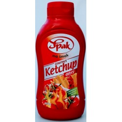 Kečup ostrý Gourmet Spak 1x900g