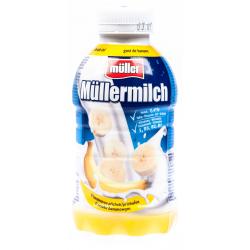Mléčný nápoj s příchutí banánu - Müllermilch 400 g
