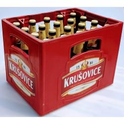Pivo Krušovice královská 12 královský pivovar vratná láhev 20x0,5l