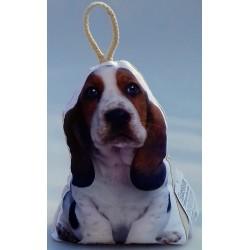Dveřní zarážka pes Baset