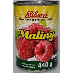 Maliny kompot Alibona 1x440g