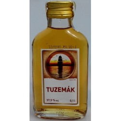 Konzumní lihovina Tuzemák rum ST. NICOLAUS 37,5% 1x0,1l