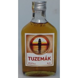 Konzumní lihovina Tuzemák rum ST. NICOLAUS 37,5% 1x0,2l