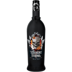 Trojka Devil vodka 33% 1x700ml