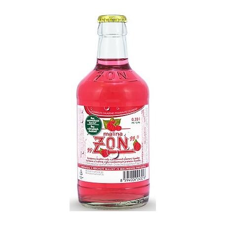 Malinová limonáda Malina ZON Třebíč vratná lahev sklo 1x330ml