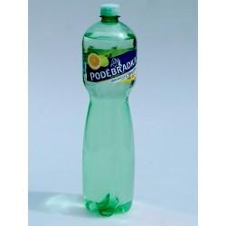 Minerální voda jemně perlivá s příchutí Citrus Mix Poděbradka 1x1,5l