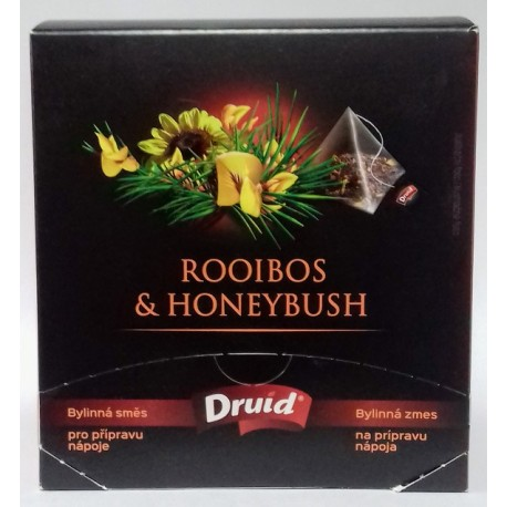 Bylinný čaj rooibos & honeybush Druid 1x(12x2,25g)27g